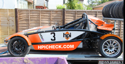 HPI at Brand's Hatch - Atom Cup 2014