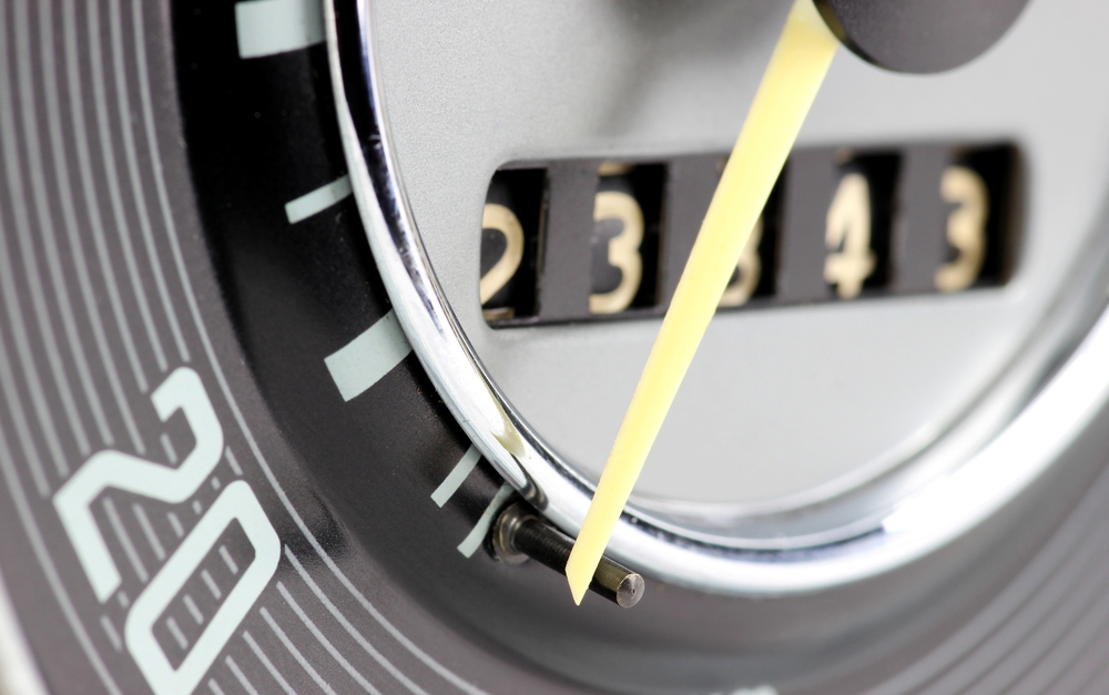 Car clocking, false mileage, MOT History Check